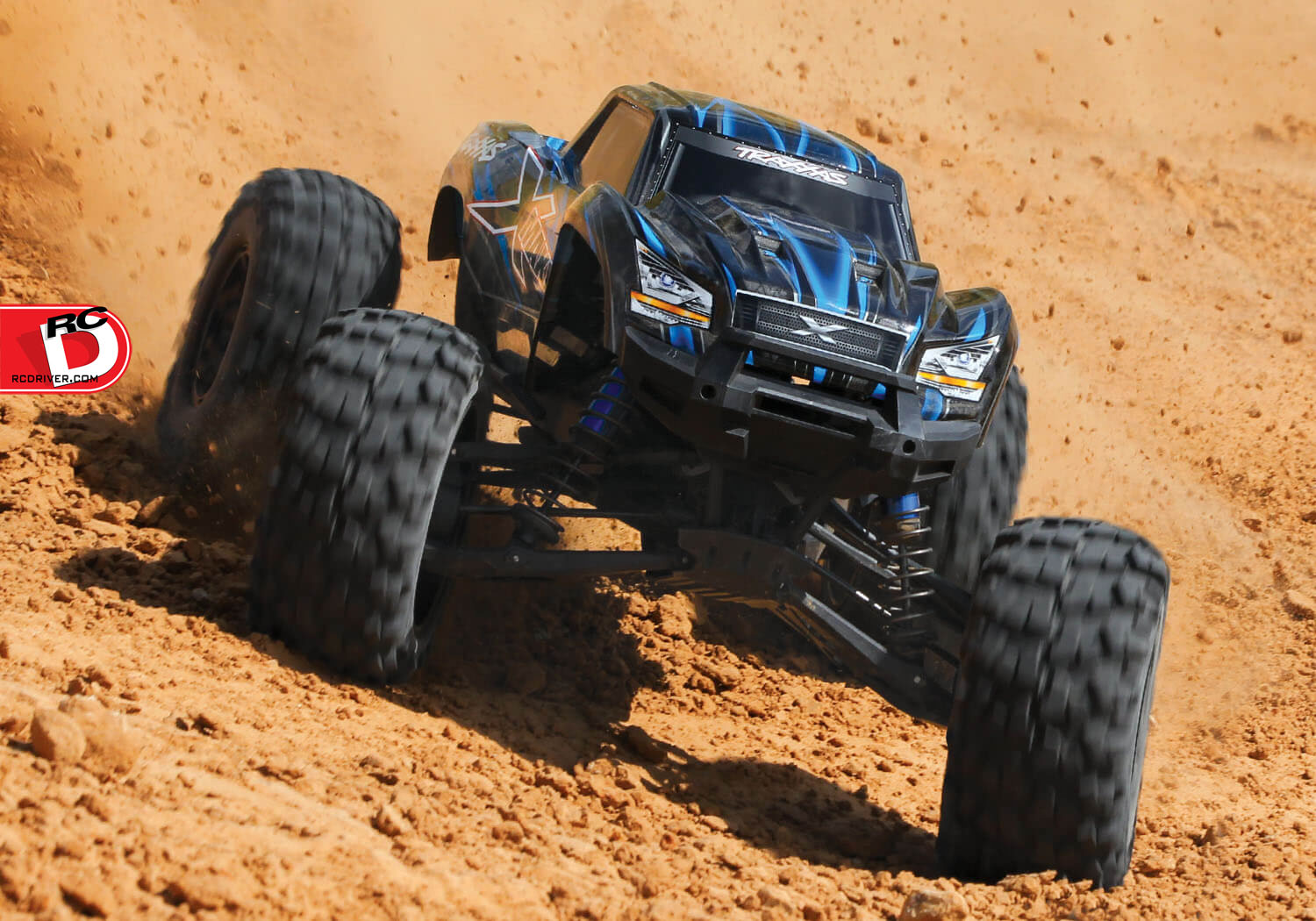 It S Hugh The X Maxx Electric Monster Truck From Traxxas