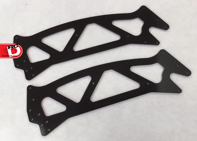 Xtreme Racing Carbon Fiber Chassis Plates for the HPI Jumpshot