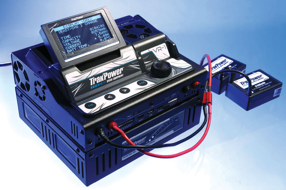TrakPower VR-1 Dual Racing Charger