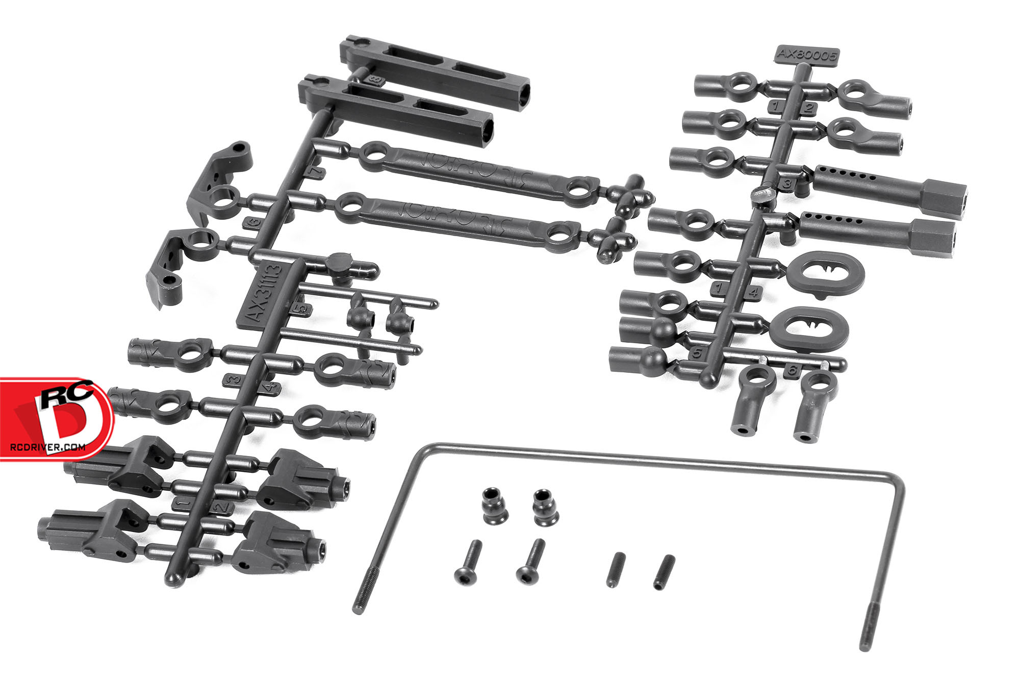 RR10 Soft Rear Sway Bar Set from Axial Racing