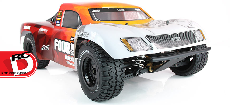 The Helion Select Four 10SC 4wd Short Course Truck