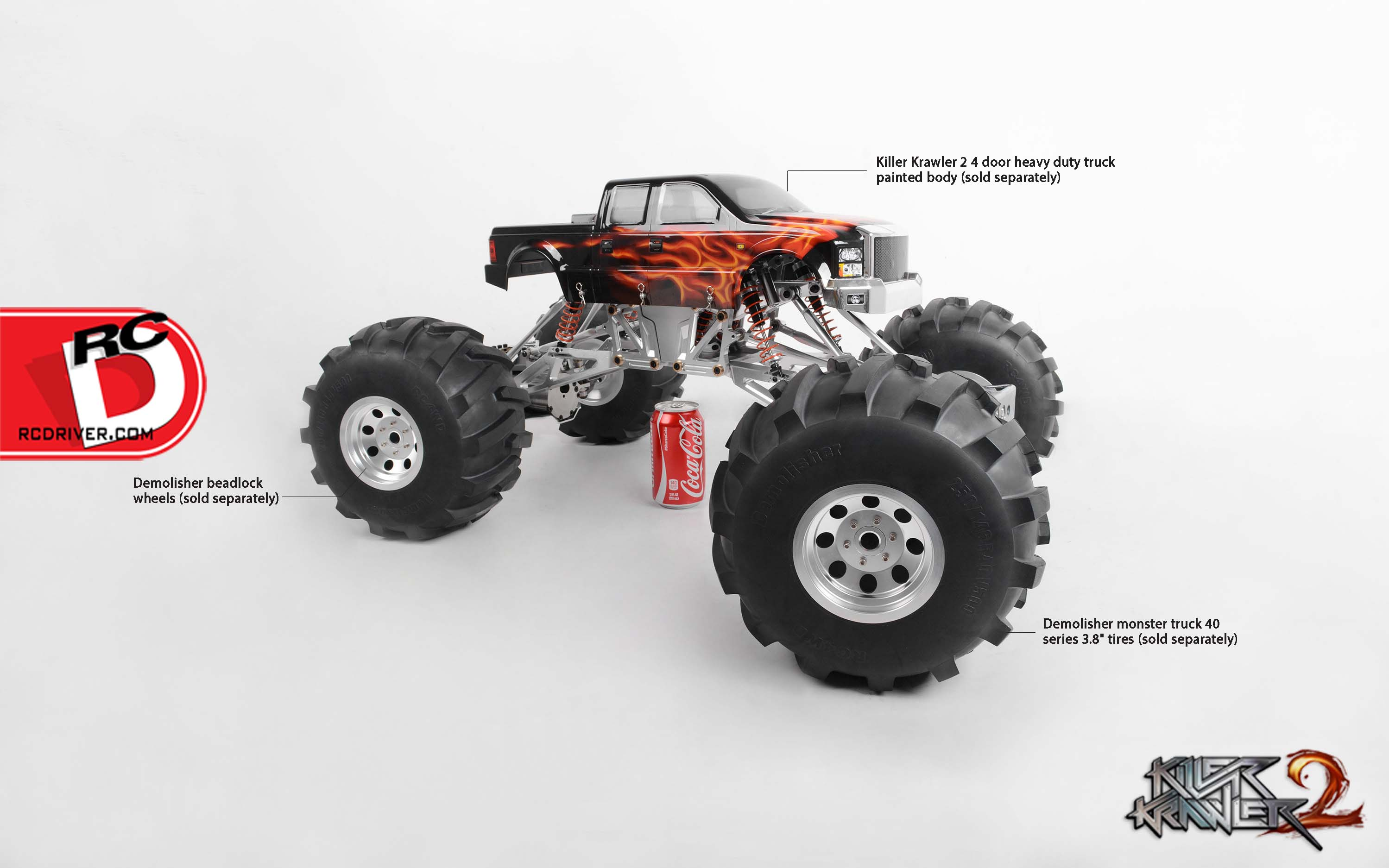 Go BIG with the RC4wd Killer Krawler 2