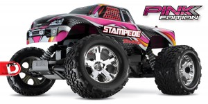 Traxxas - Pink and Courtney Force Editions of the Slash, Stampede, Bandit and Rustler_7 copy
