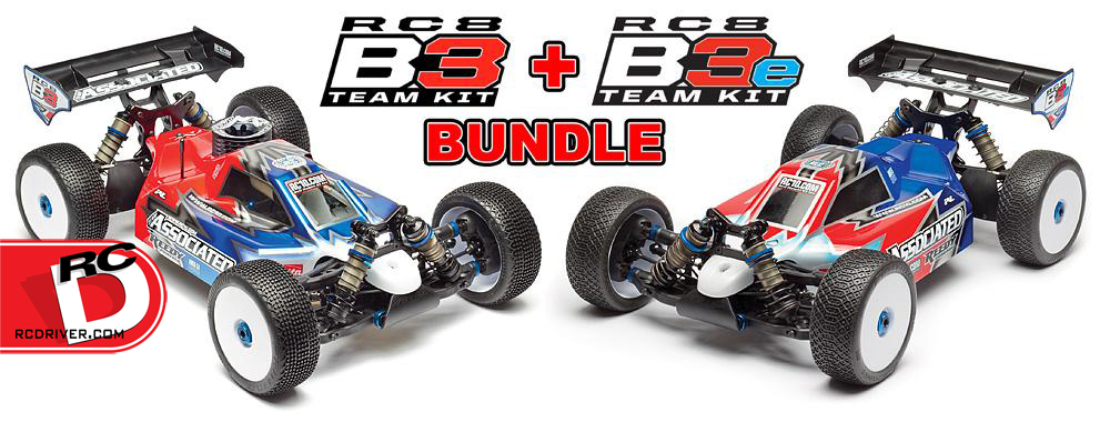 Bundle Up and Save with the RC8B3 and RC8B3e Kit Bundle
