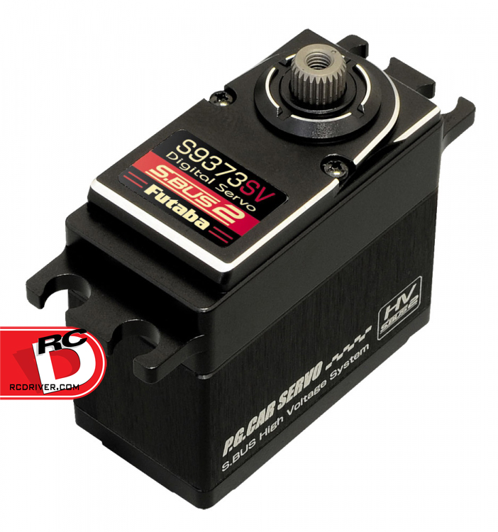Get Speed and Torque with the Futaba S9373SV Digital Servo
