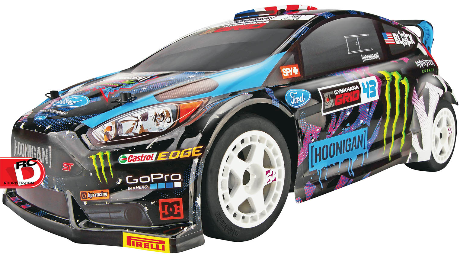 1/18 Ken Block 2015 Ford Fiesta Micro RS4 4WD RTR from HPI