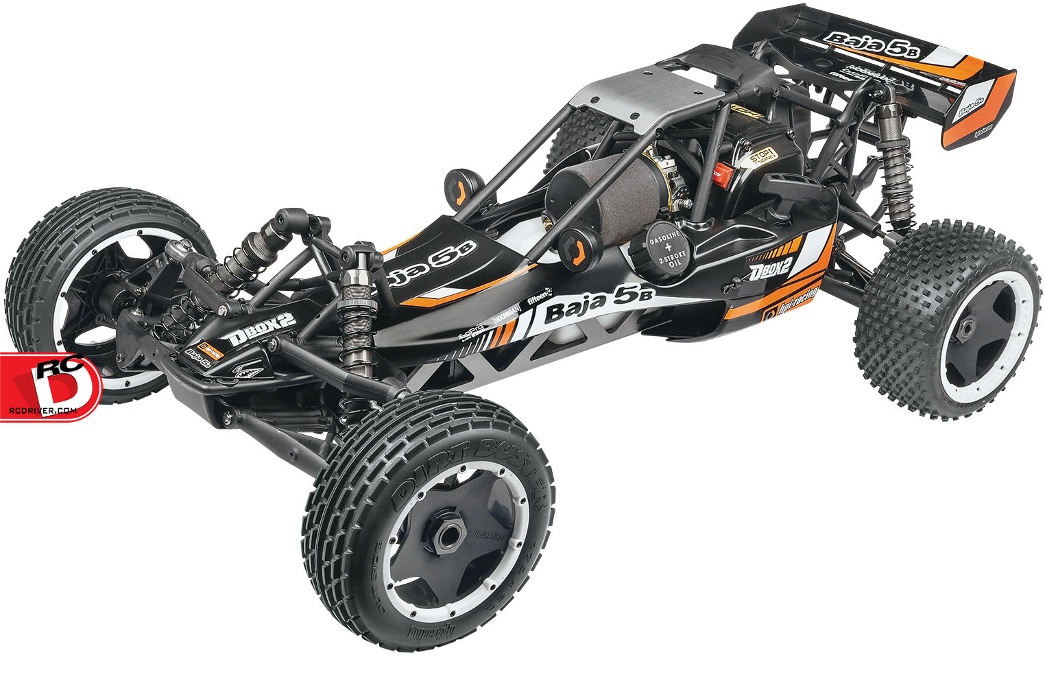 Get Control – The BAJA 5B with D-Box 2 from HPI