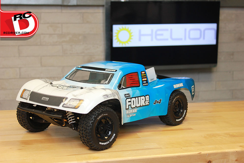 Helion Select Four 10sc 4wd Electric Sc Truck