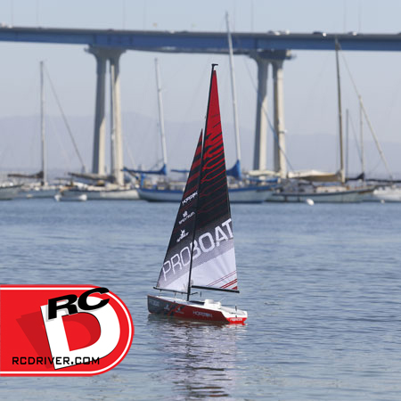 Ragazza 1-Meter Sailboat from Pro Boat