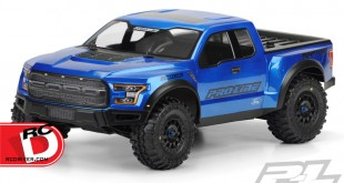 Pro-Line - 2017 Ford F-150 Raptor True Scale Clear Body copy