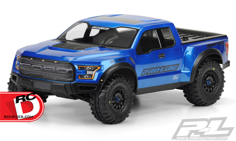 2017 Ford F-150 Raptor True Scale Clear Body