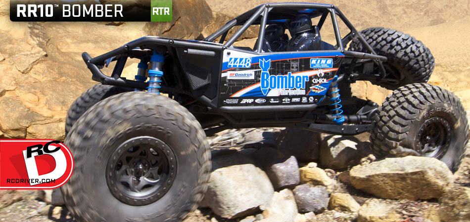 ST Racing Concepts Option Parts for Axial RR10 Bomber