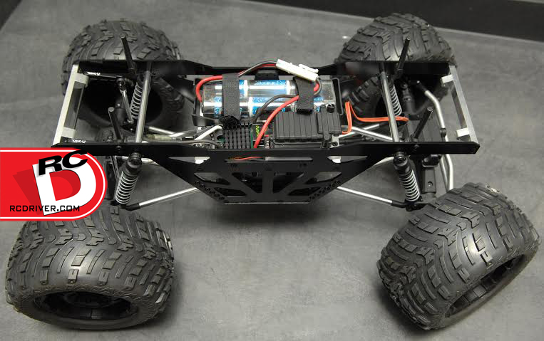 Izilla Monster Truck Racing Chassis kit for Axial Wraith by STRC