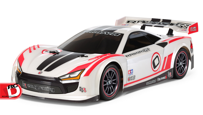 A Sleek Look!  The Raikiri GT TT-02 from Tamiya