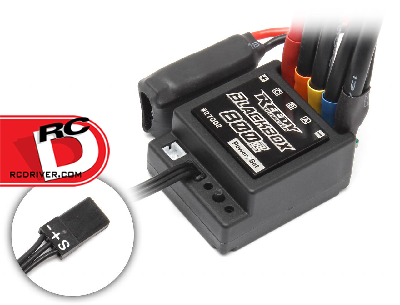 Reedy Blackbox 800Z Zero-Timing Sensored Brushless Competition ESC