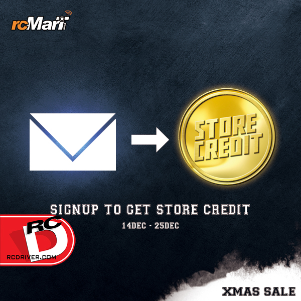 rcMart 12 Days of Christmas Store Credit Giveaway Special