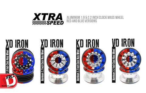 Xtra Speed New 1.9 and 2.2 Beadlock Crawler Wheels at rcMart