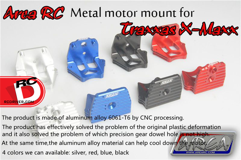 Area RC Has Aluminum Option Parts For The Traxxas X-Maxx