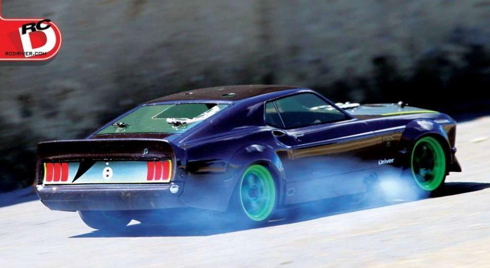 HPI Nitro RS4 3 evo+ Mustang RTR-X