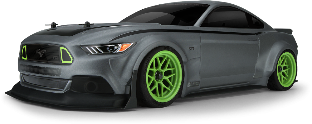 The HPI RS4 Sport 3 Vaughn Gittin Jr. Mustang 4WD RTR