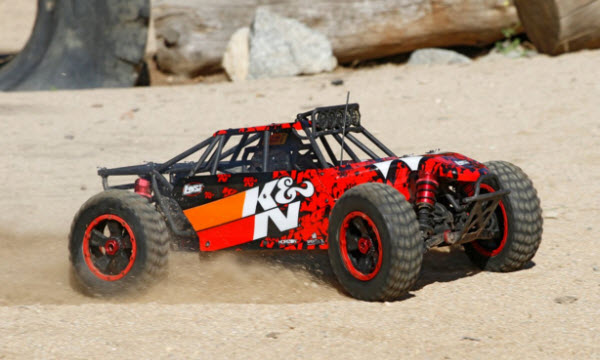 K&N DBXL 4WD RTR Gas Buggy from Losi