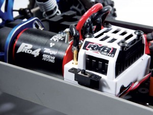 Fast, powerful, efficient and program- mable. The Team Tekin RX8 GEN2 ESC and Pro4 motor are all that and more.