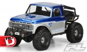 1966 Ford F-100 Body for the SCX10 Trail Honcho from Pro-Line