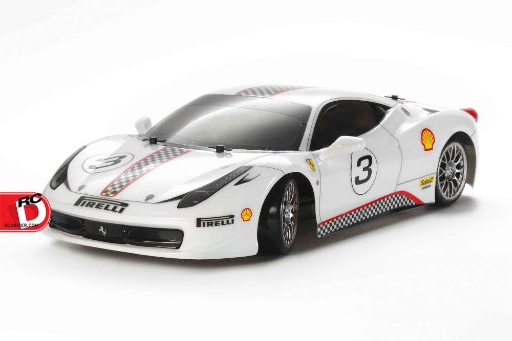 Ferrari 458 Challenge (TT-02D) Drift Spec From Tamiya