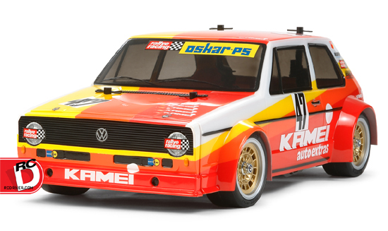 Volkswagen Golf Mk.1 Racing Group 2 (M-05 Chassis) from Tamiya