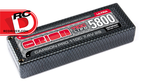 Team Orion Carbon Pro ULTRA 110C LiPo Packs