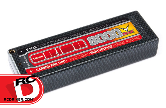 Team Orion Carbon Pro V-Max 110C Outlaw HV Racing LiPo Packs
