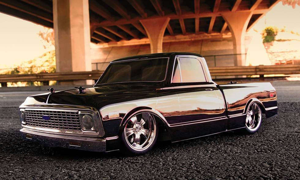 Chevy C10 Pickup For Sale Chevy Silverado Pro-Touring Clear Body for Short Course Trucks by Pro ...