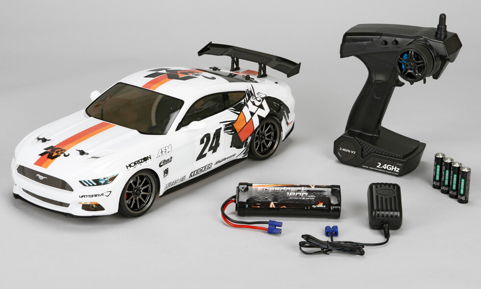 K&N Ford Mustang GT V100 Drift RTR from Vaterra