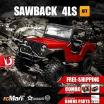 Gmade's GS01, the Sawback 4LS is now available for pre-order at rcMart