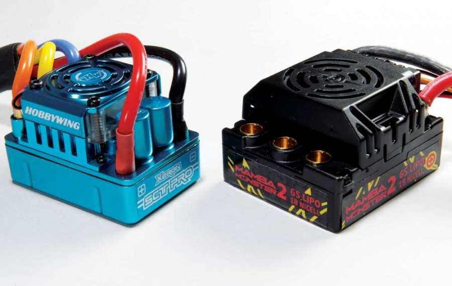 Aftermarket ESC's like those from Hobbywing and Castle Creations can often handle more power and do so reliably.
