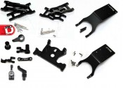 STRC Limited Edition Black Anodized Option Parts for Slash 4×4 and Slash 2WD