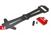 Mini 8IGHT buggy V2 Carbon Fiber Top Plate from Exotek