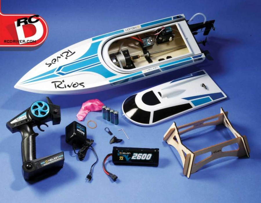 Everything you need to get on the water quickly is included with the kit.