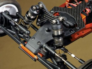 The steering rack of the TM2 V2 utilizes a draglink that features Ackermann adjustment. That translates to superior control authority in the steering department.