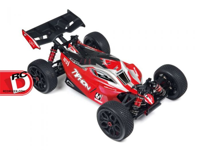 Arrma - Updated Typhon 6S BLX Brushless 4WD Buggy copy