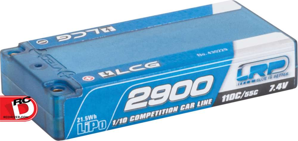 LRP - 2900mAh Shorty LCG 110C-55C LiPo Battery copy