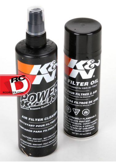 Losi - K&N Filter Care Service Kit copy