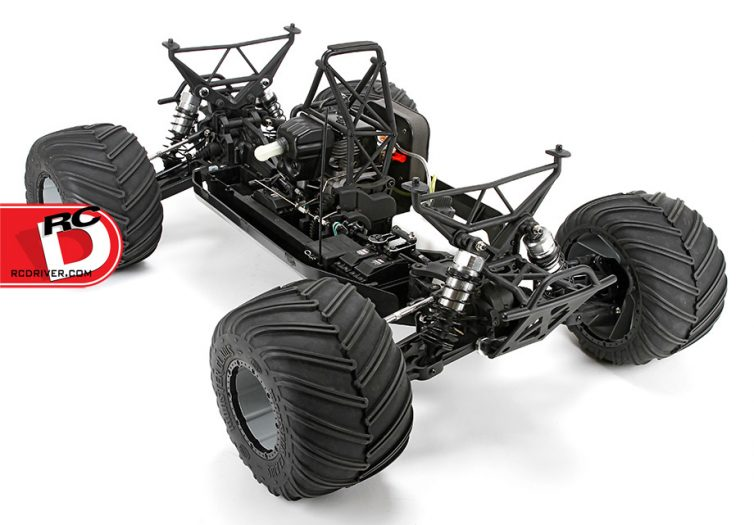 how to turn rc monster truck 1 5 into 4wd