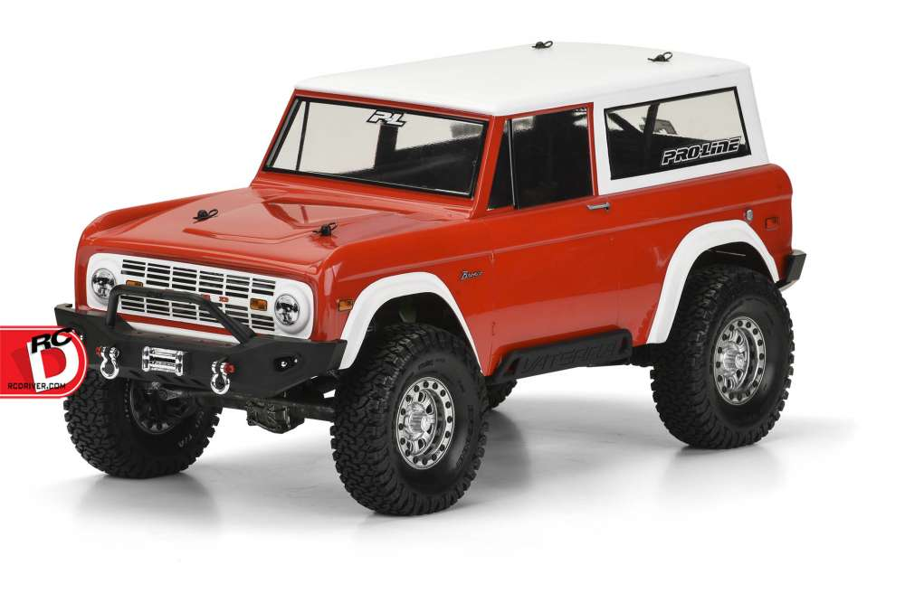 Pro-Line - 1973 Ford Bronco Clear Body copy