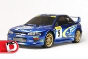 Subaru Impreza – TT-02 Monte-Carlo '99 from Tamiya