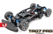 Cool Design!  The TA07 PRO Chassis Kit from Tamiya