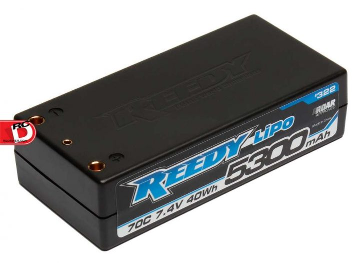 Team Associated - Reedy LiPo 5300mAh 70C 7.4V Shorty Battery