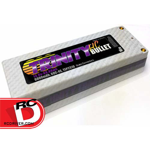 Trinity - White Carbon 4 Cell, 6000mAh Bullet Pack copy