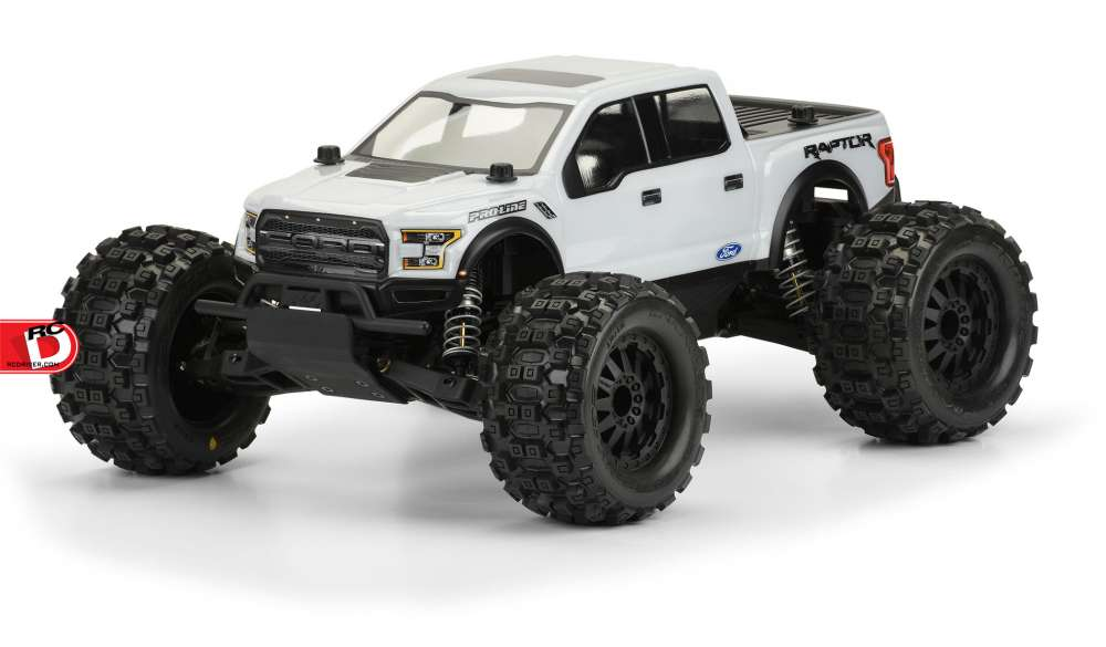 2017 Ford F-150 Raptor Clear Body for the Pro-MT copy