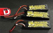 3S LiPo Battery Packs From New Wave